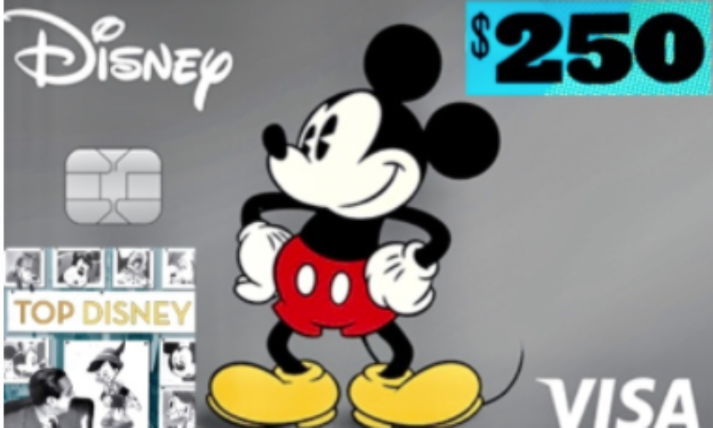 Win a $250 VISA Gift Card from Top Disney