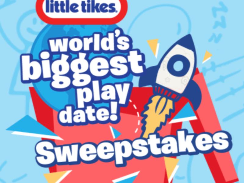 Win $1K in Little Tykes Toys