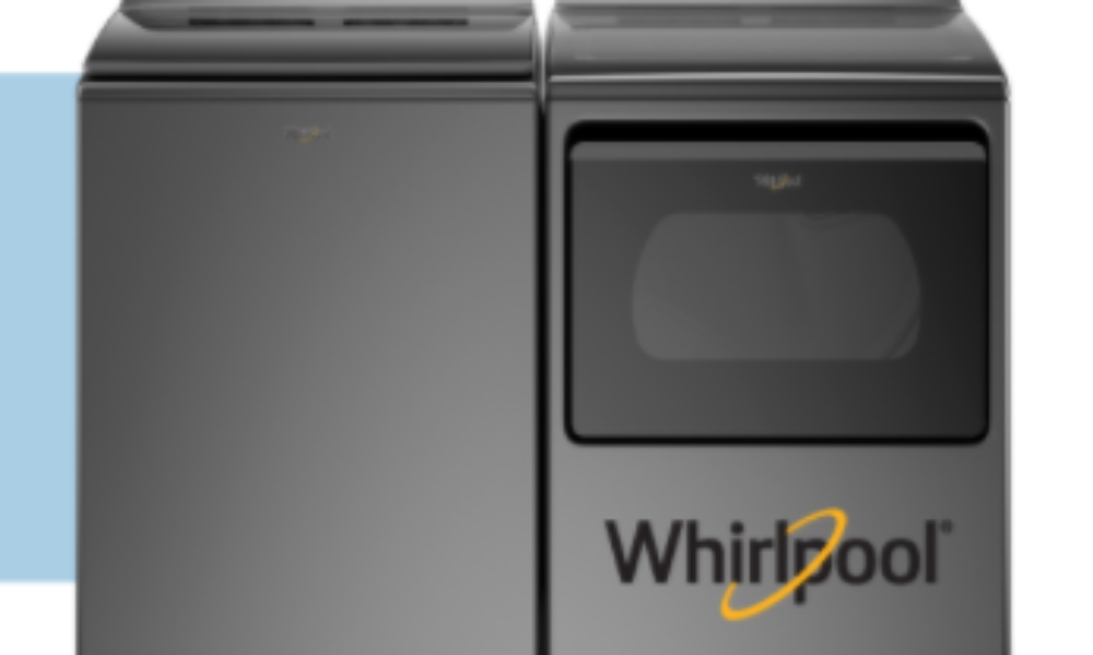 Win a Whirlpool Washer & Dryer from RAC