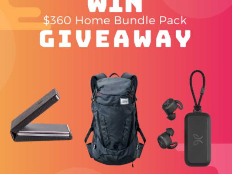 Win a Home Bundle Pack from Gadget User