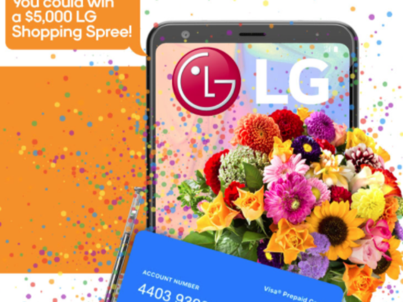 Win a $5K LG Shopping Spree from Boost Mobile