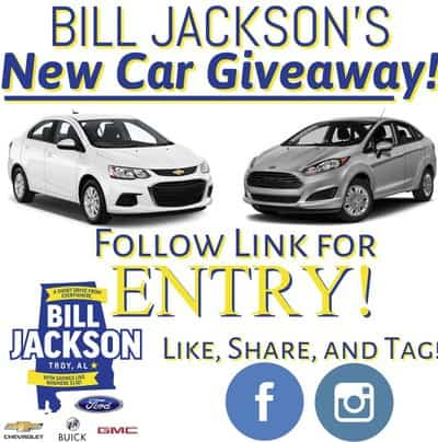 Win a New Ford or Chevy Vehicle from Bill Jackson