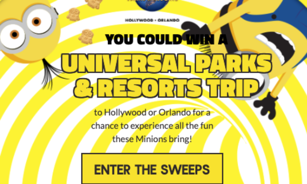 Win a Universal Parks & Resorts Trip