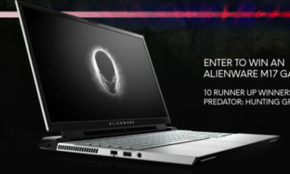 Win an Alienware M17 Gaming Laptop