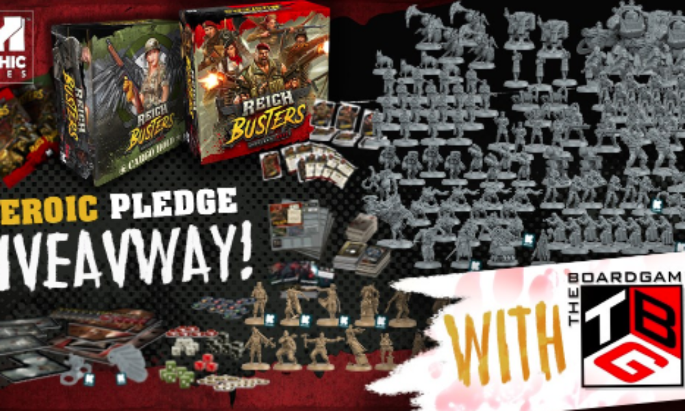Win the Reichbusters Board Game