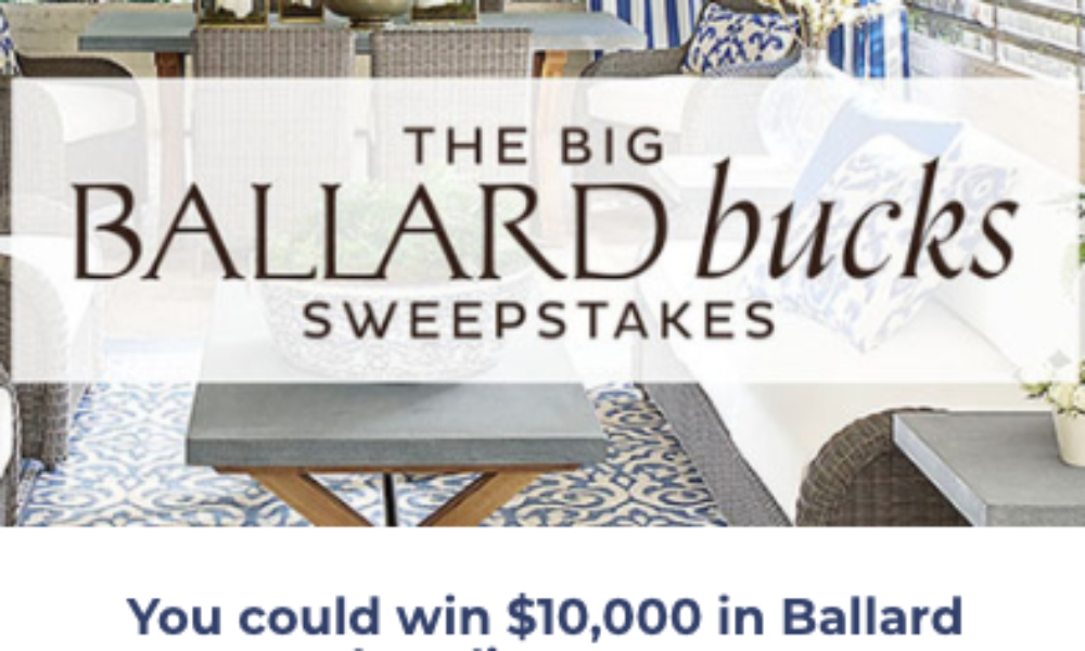 Win $10K in Ballard Merchandise