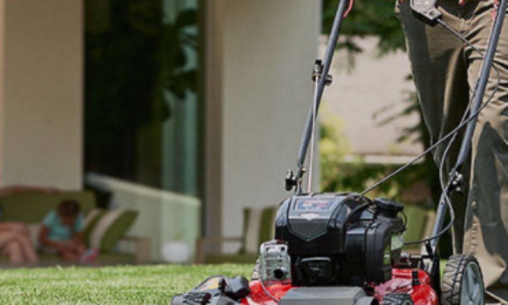 Win the Ultimate Briggs & Stratton Gas-Powered Lawn Mower