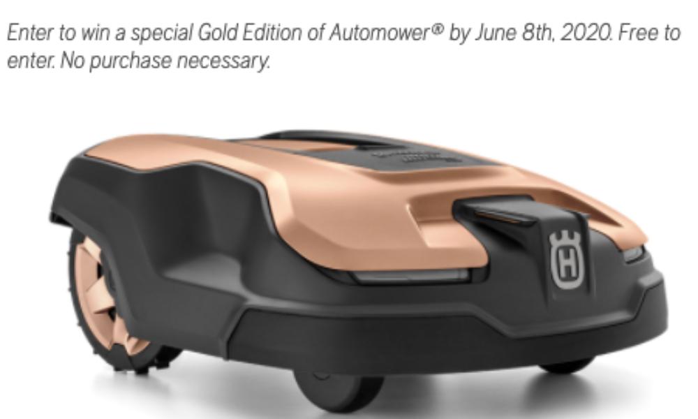 Win a Husqvarna Automower