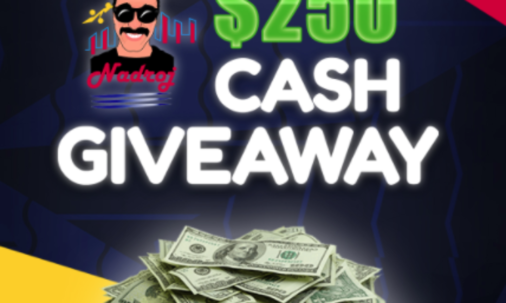 Win $250 Cash from NadrojVC