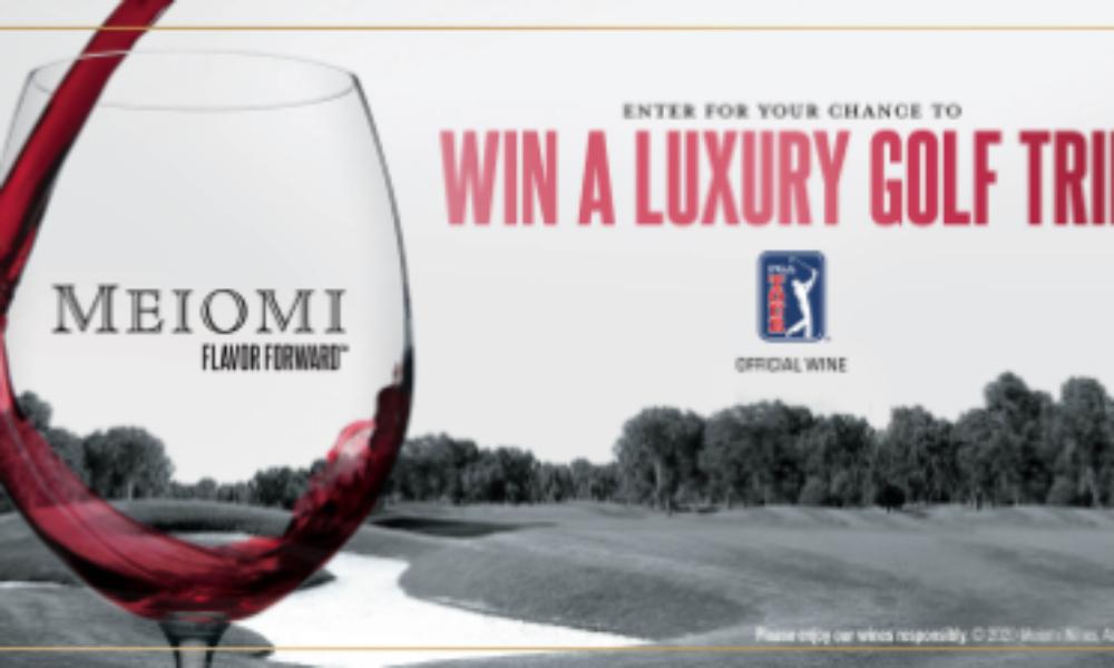 Win a Luxury Golf Trip from Meiomi