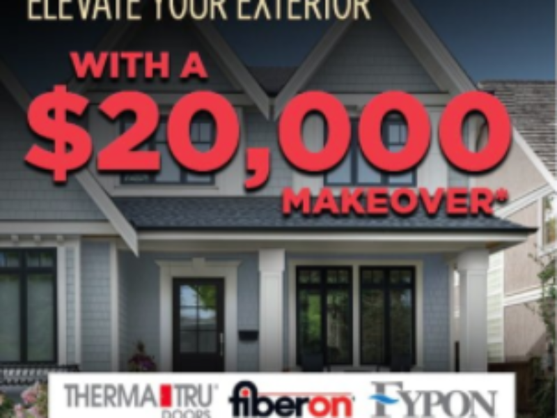 Win a $20K Home Exterior Makeover from Today's Homeowner