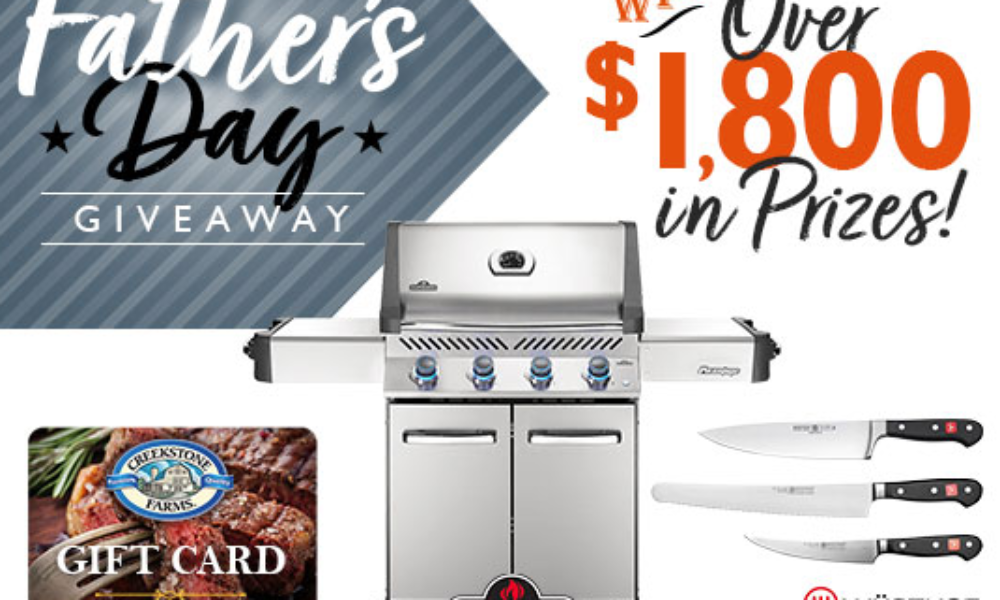 Win a Napoleon Gas Grill from All Things Barbecue