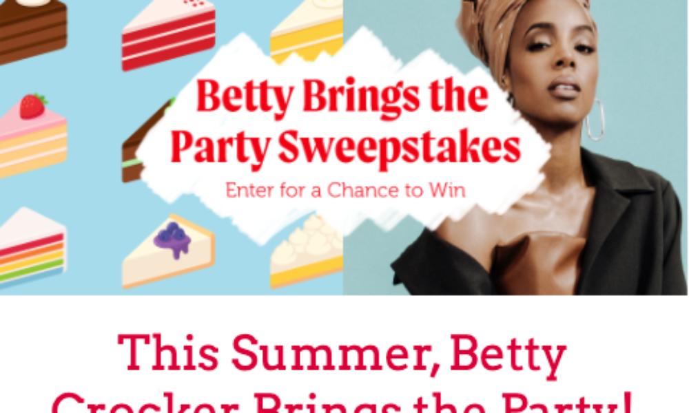 Win a Birthday Baking Kit from Betty Crocker