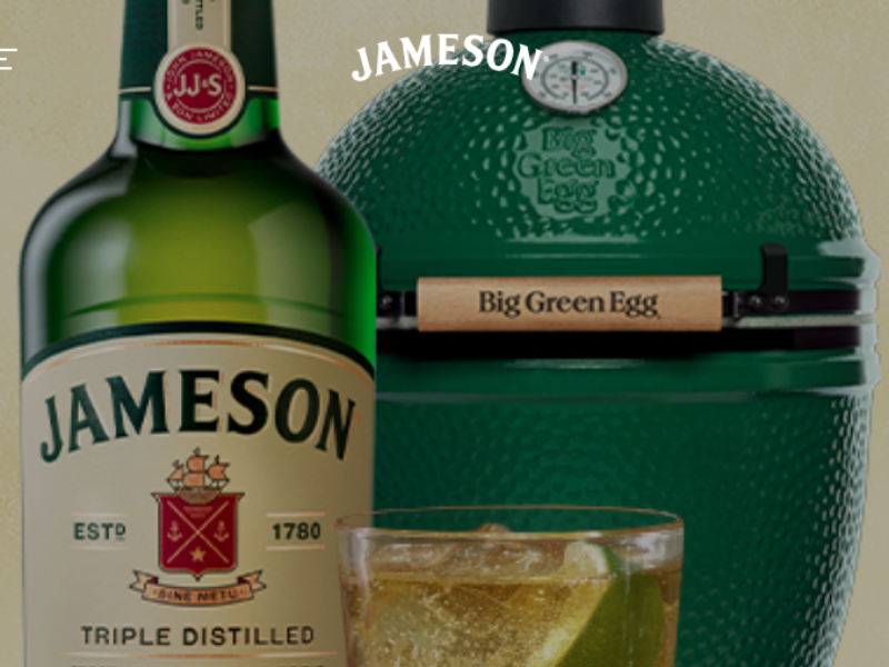 Win a Big Green Egg Grill from Jameson