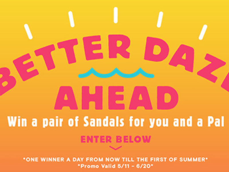 Win a Pair of Reef Sandals or Shoes for You and a Friend