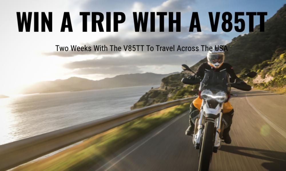 Win a Motorcycle Road Trip from Moto Guzzi