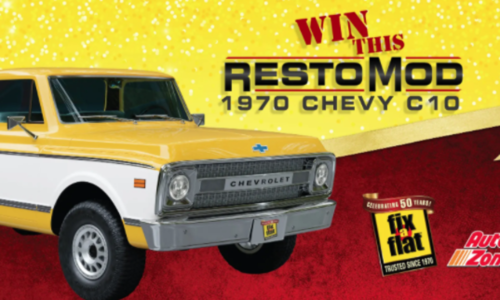 Win a Restored 1970 Chevy C10