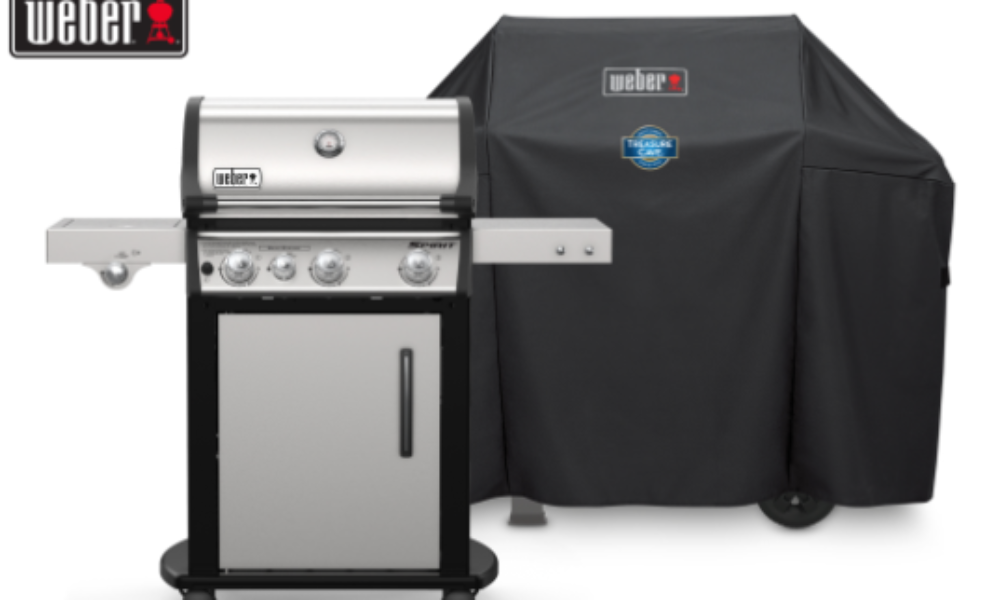 Win a Weber Spirit Gas Grill from Treasure Cave