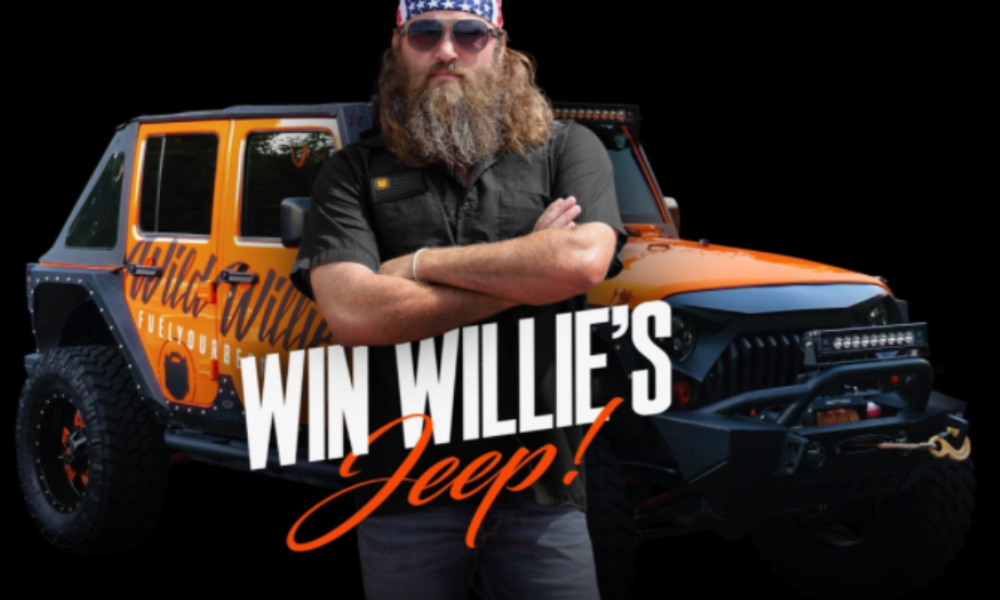 Win a Jeep Wrangler Unlimited from Wild Willies