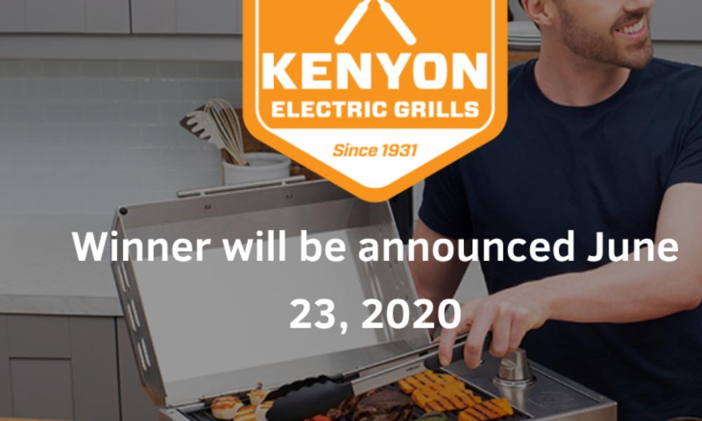 Win a Kenyon City Grill & Utensil Kit