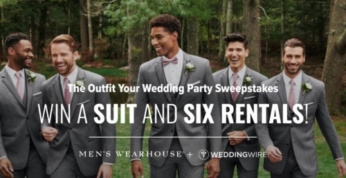 Win a Suit & Six Rentals for your Wedding