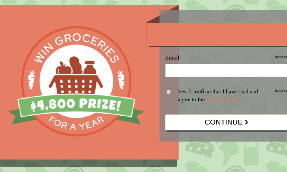 Win Groceries for a Year from Valpak