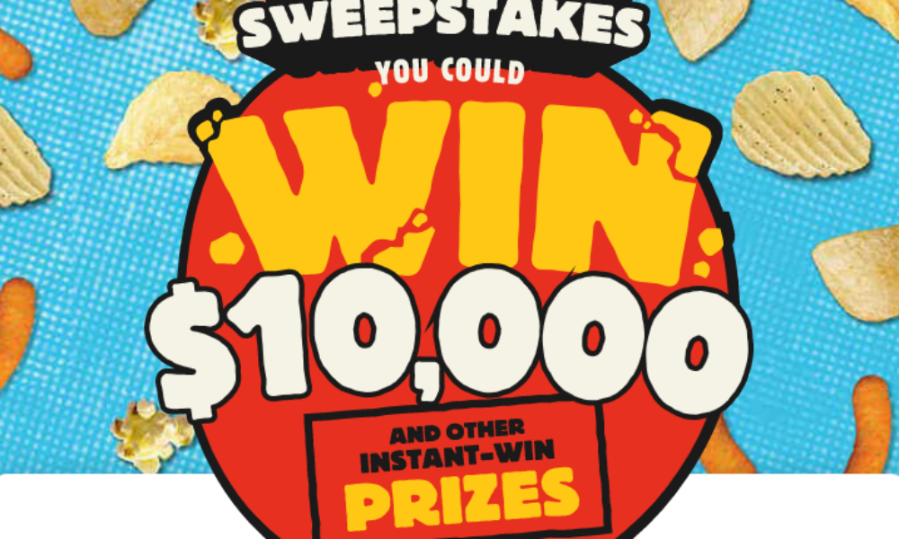 Win $10K or an Instant Win Prize from Herr's