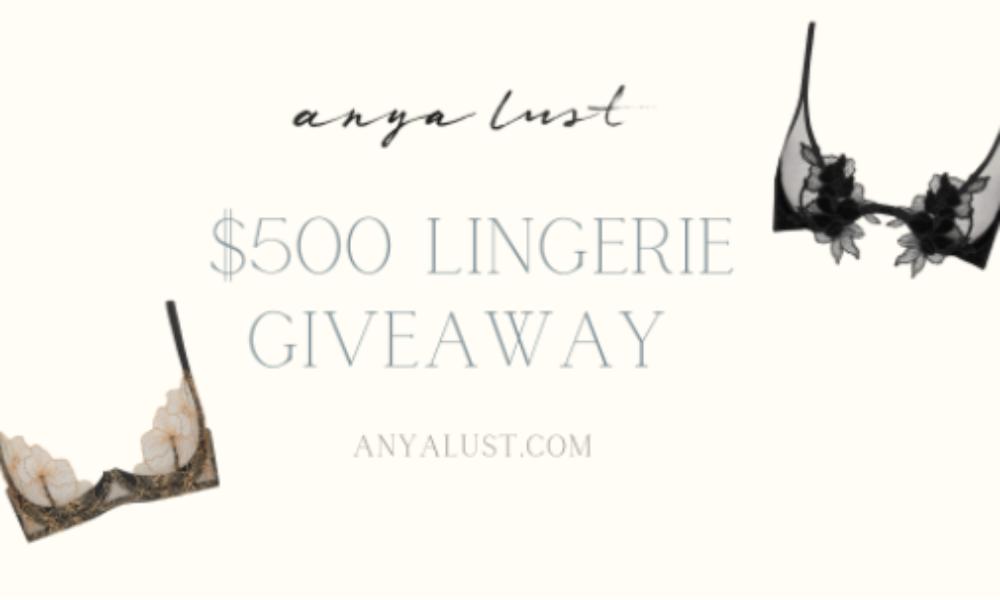Win a $500 Anya Lust Shopping Spree