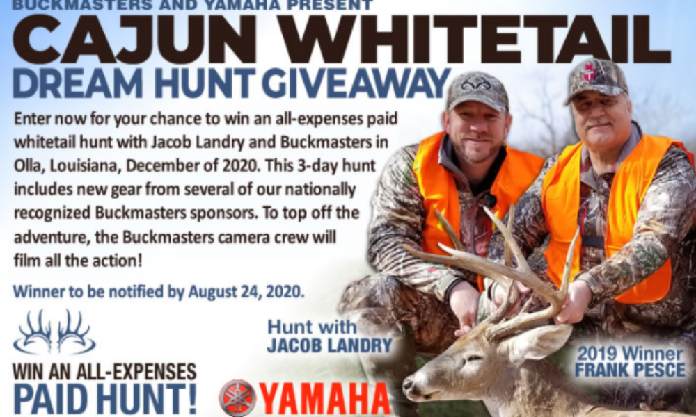 Win an All-Expenses Paid Whitetail Hunt from Buckmasters