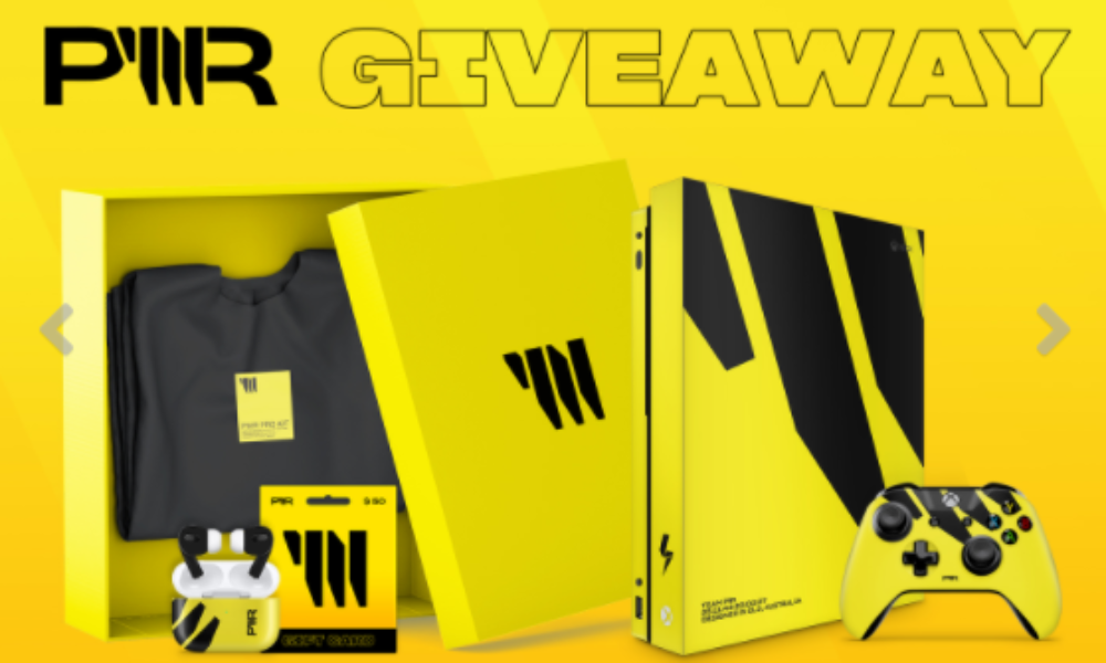Win a PWR Xbox or PWR PS4