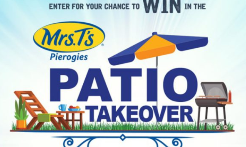 Win a Patio Set & Weber Grill from Mrs. T's Pierogies