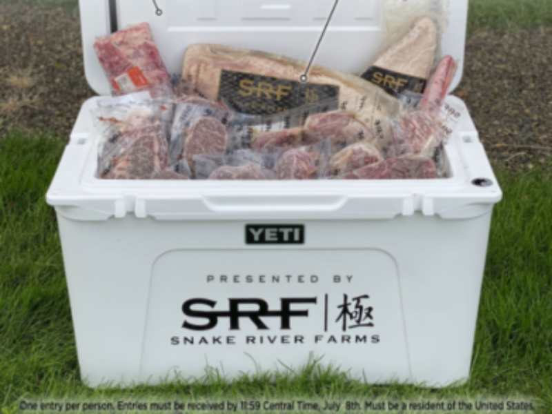 Win a YETI Tundra 105 Cooler + Summer Meat Assortment