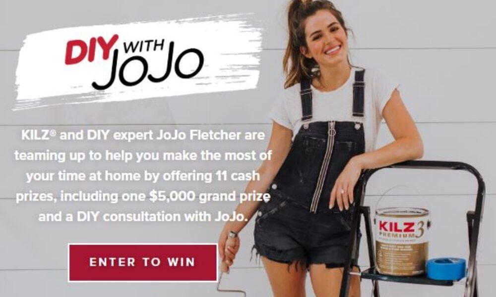 Win $5K + JoJo DIY Consultation from KILZ