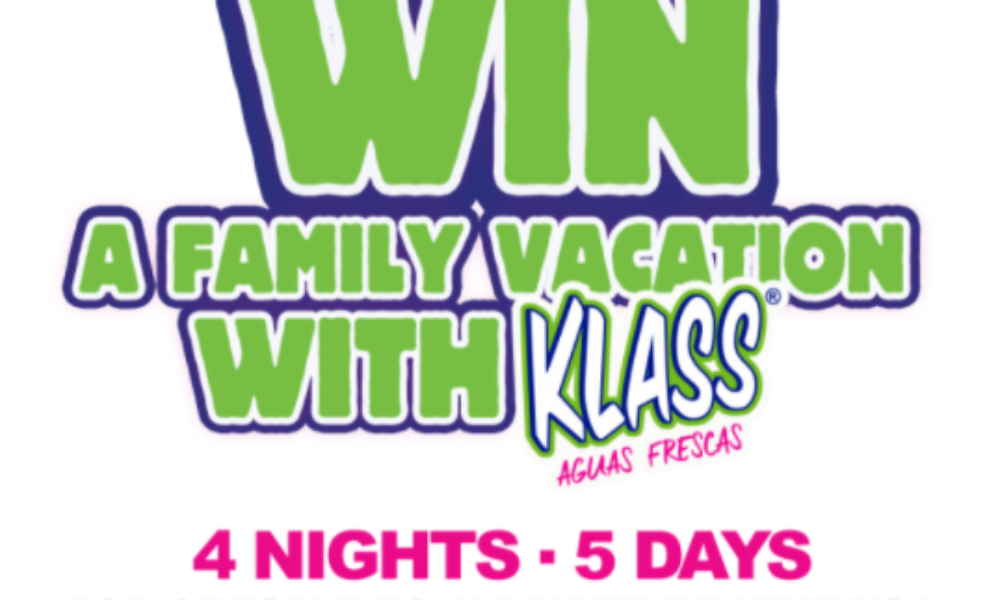 Win a Family Vacation Anywhere in the USA from KLASS