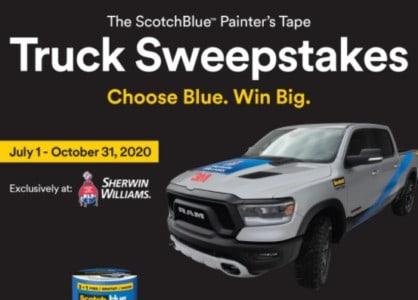 Win a 2020 RAM Rebel Truck