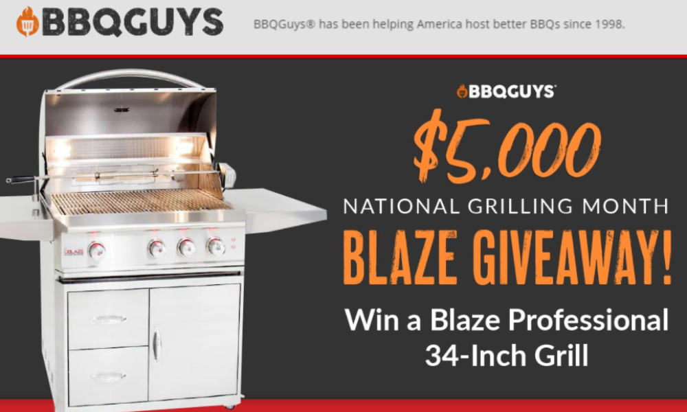 Win a Blaze Professional Grill from BBQGuys