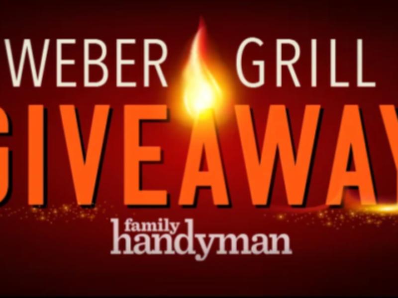 Win 1 of 3 Weber Genesis II E-310 Grills from Family Handyman