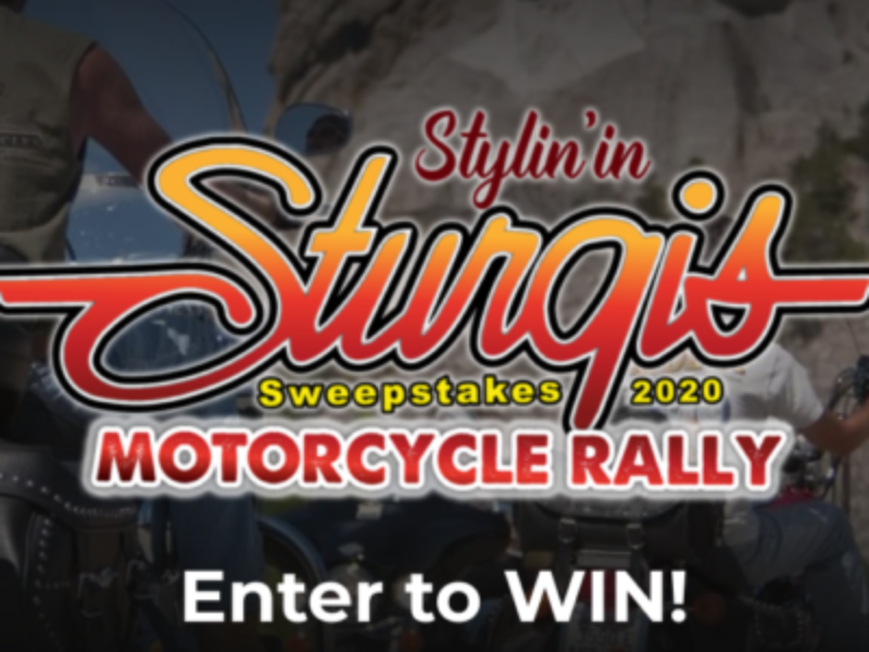 Win a Sturgis Motorcycle Prize Package