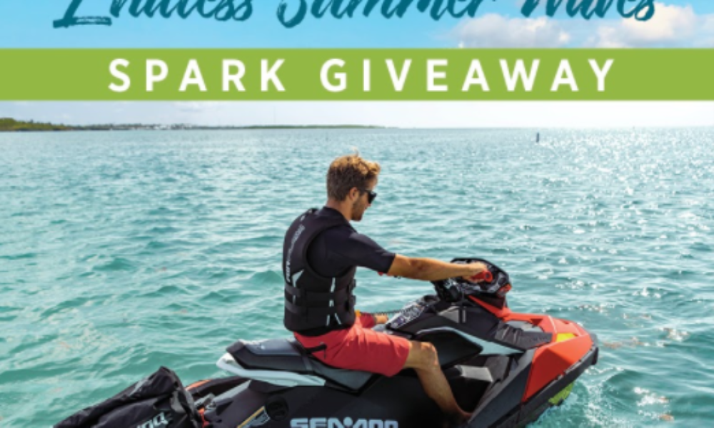 Win a Sea-Doo SPARK & Trailer