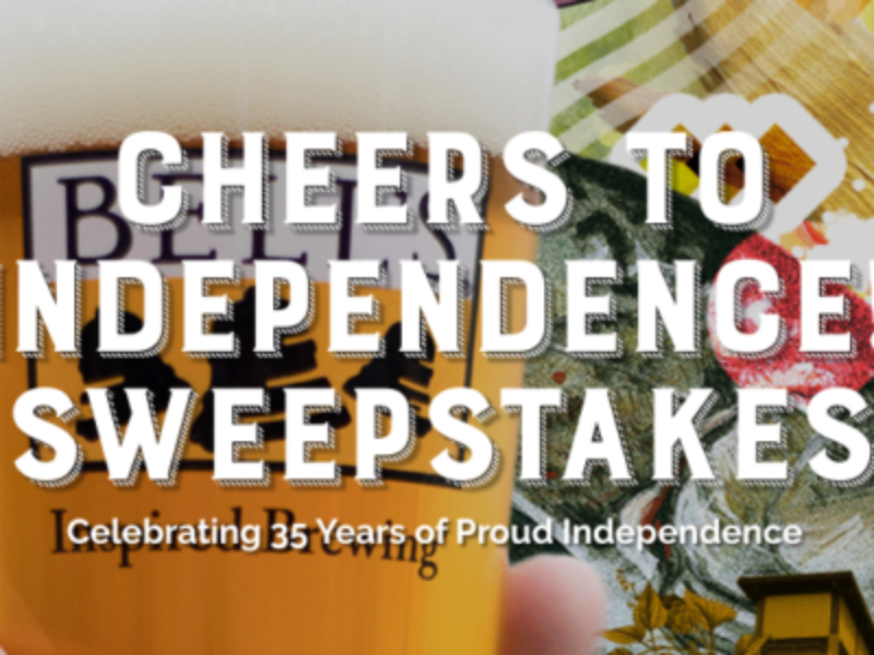 Win a Made in USA Prize Package from Bell's Brewery