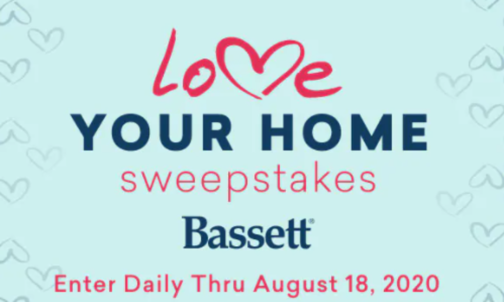 Win a $10,000 Bassett Furniture Gift Card