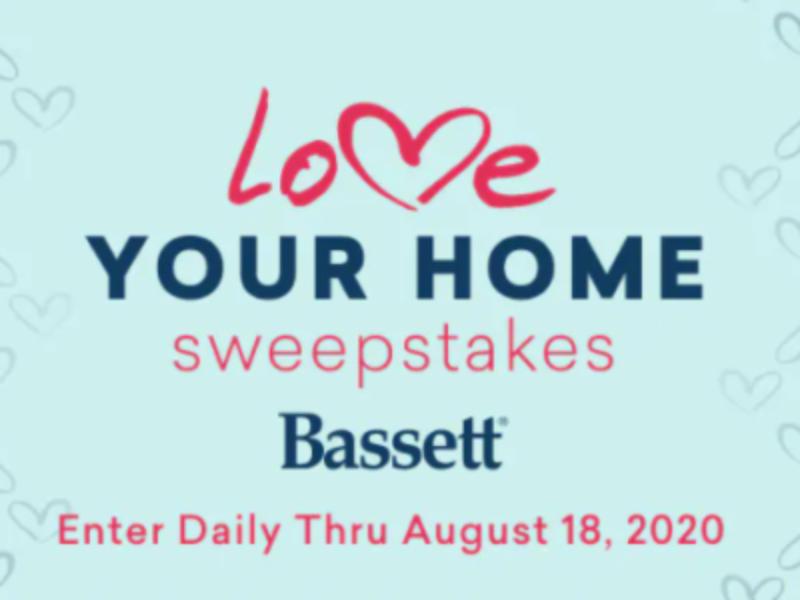Win a $10,000 Bassett Furniture Gift Card