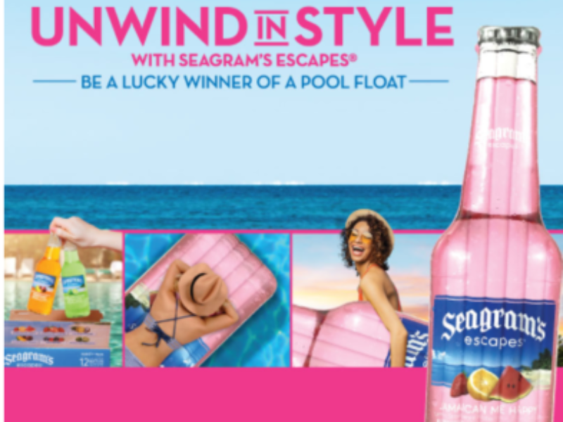 Win a Seagram's Escapes Pool Float