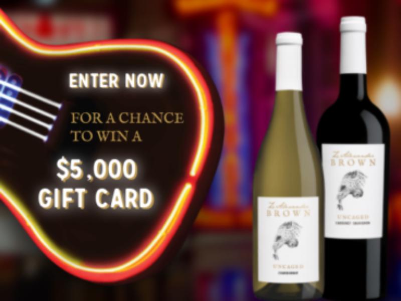 Win a $5K VISA from Z. Alexander Brown Wines
