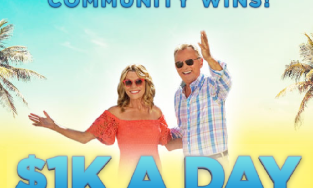 Win $1K a Day from Wheel of Fortune