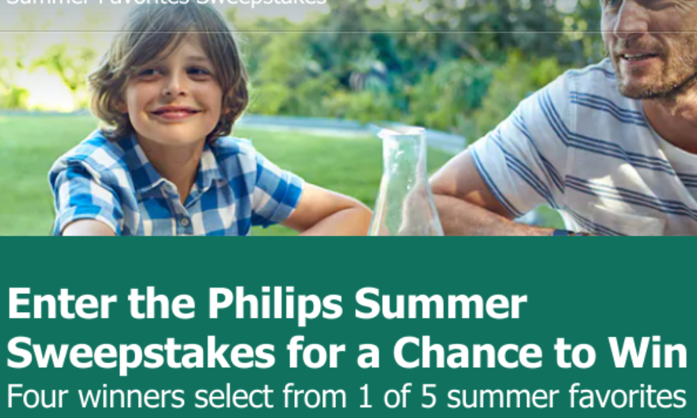 Win a Philips Prize Pack