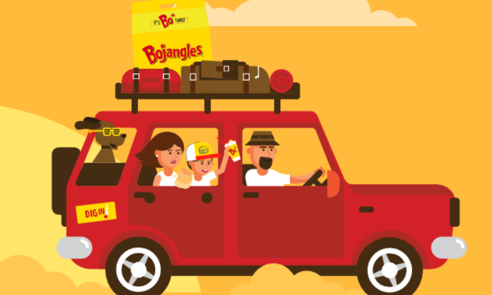 Win a Road Trip Prize Pack from Bojangles
