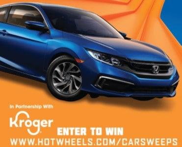 Win a 2020 Honda Civic from Hot Wheels