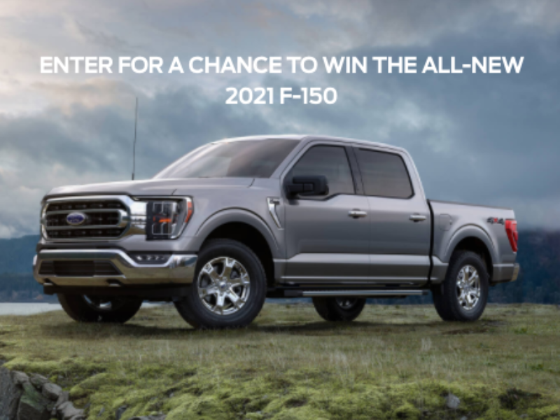 Win a 2021 Ford F-150