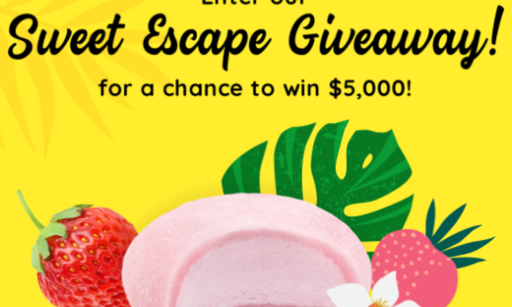 Win $5K in Cash & Prizes from Bubbies Ice Cream